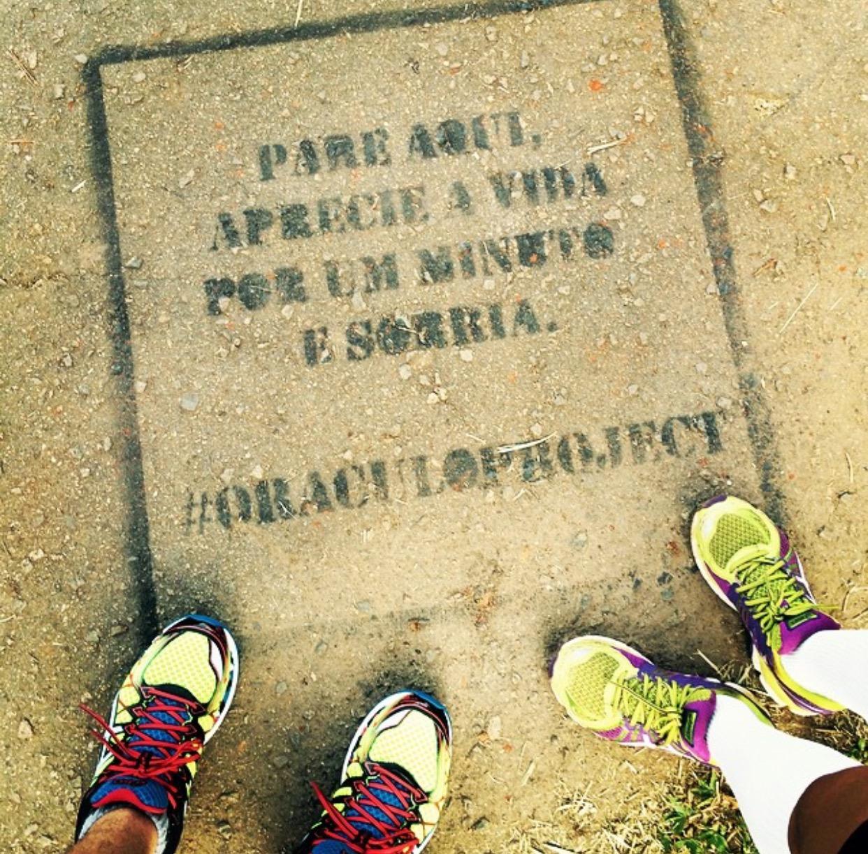 Correr pelo prazer de correr