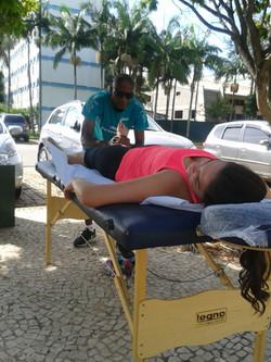 Massagem pós treino