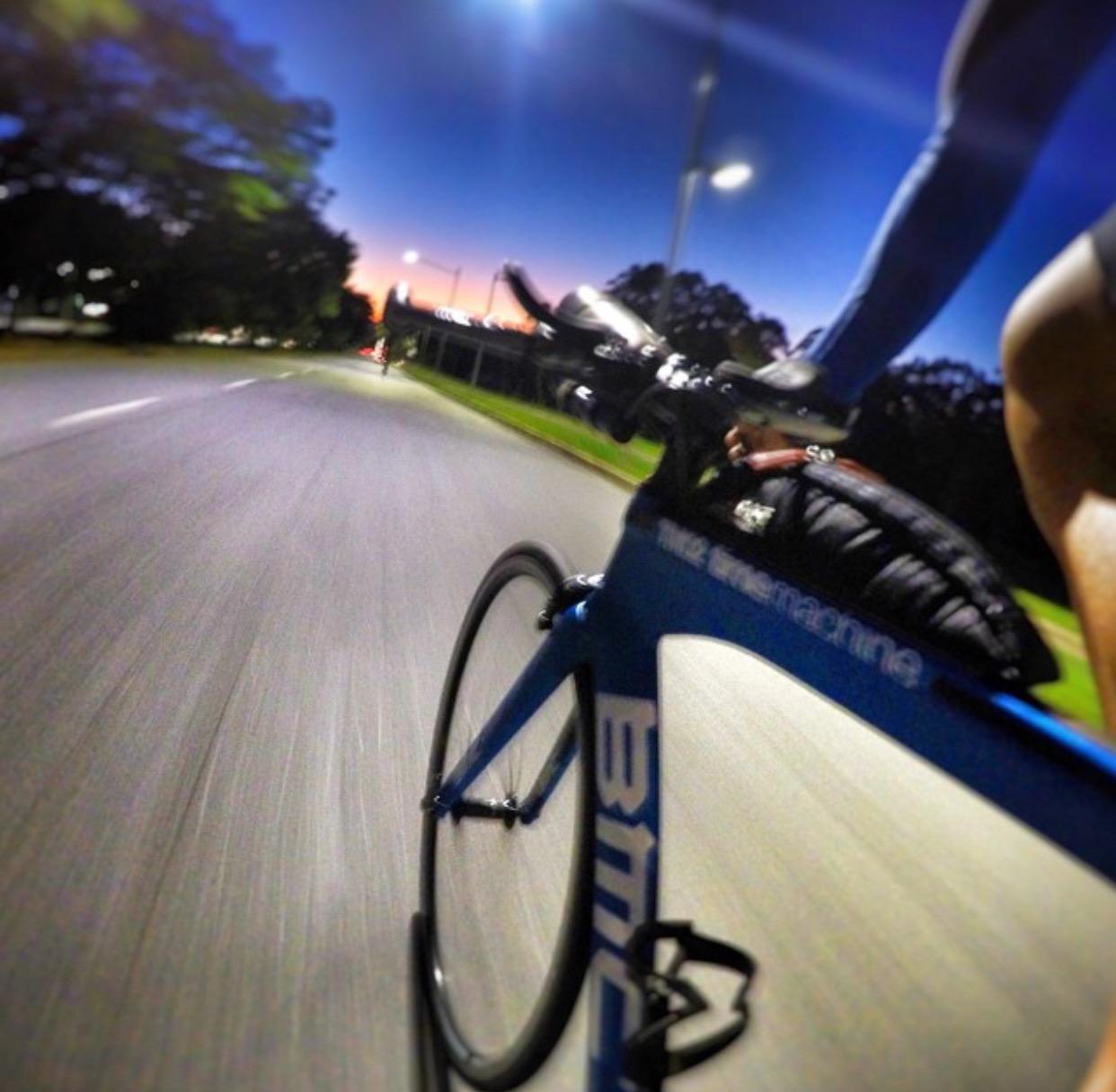 Treino de ciclismo