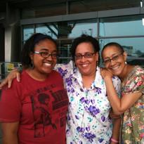 Zoe, Shelly, and Lorna