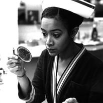 Lorna as Nurse Flinn