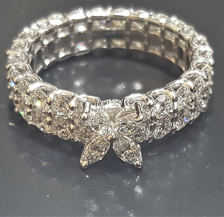 Unique Diamond Eternity Band
