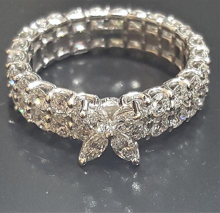 Unique Diamond Eternity Band