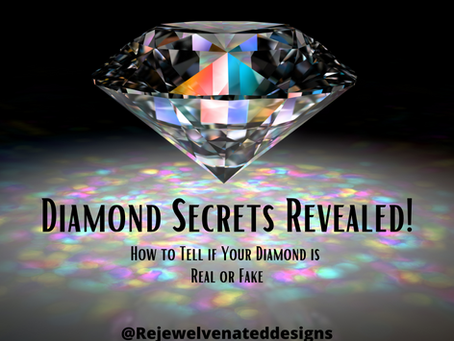 How to Tell if a Diamond is Real or a Fake Like A PRO!