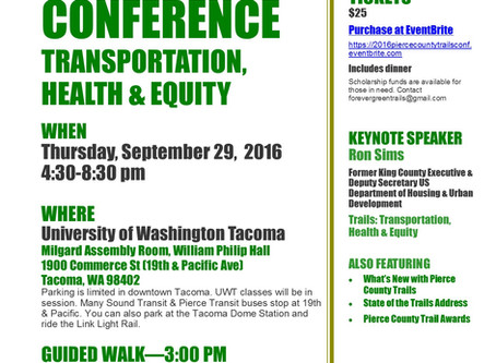 2016 Pierce County Trails Conference