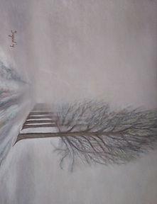 Winters bomenlaantje