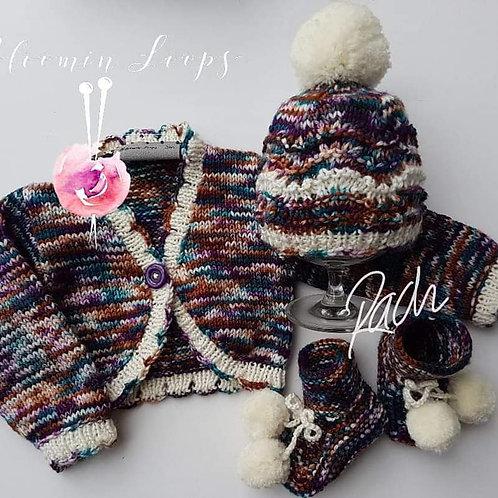 Baby Bolero Wool Set
