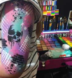 graffiti arm waterproof facepaint