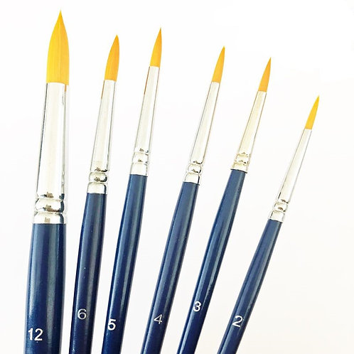Tag Round Brushes