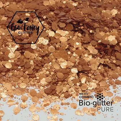 EcoFairy Bronze Mix Biodegradable Pure Glitter