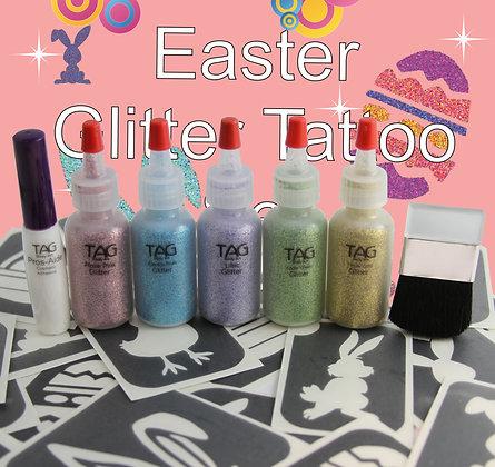 Easter Glitter Tattoo  Kit