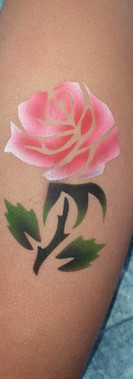 airbrush tattoo by kando airbrushing