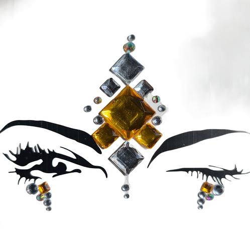 Festival Bling | Gold Orange