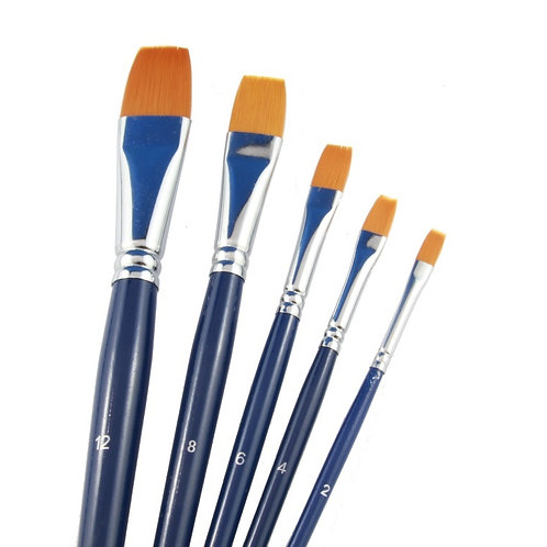 Tag Flat Brushes