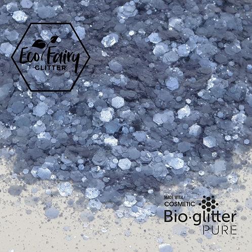Ocean Blue Multi Loose BioGlitterTM Pure