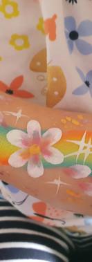 kando entertainment toddler arm paint
