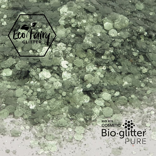 Sea Green Multi Loose BioGlitterTM Pure