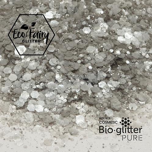 Silver Multi Loose BioGlitterTM Pure
