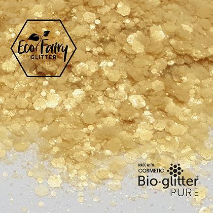 EcoFairy Gold Mix Biodegradable Pure Glitter