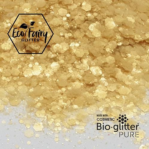 Light Gold Multi Loose BioGlitterTM Pure