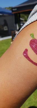 glitter tattoo by kando entertainment