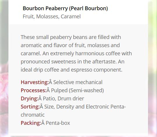 Pearl Bourbon - 250g