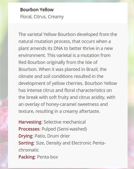 Yellow Bourbon - 250g