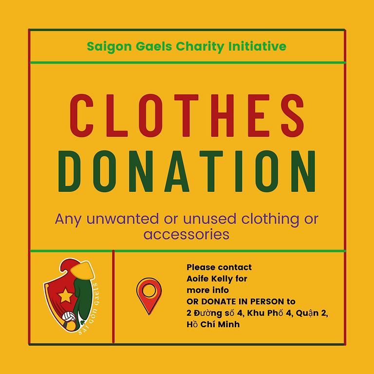 Clothes Donations