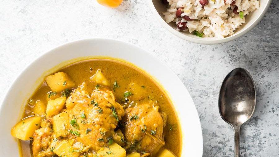 Jamaica Jerk Chicken Curry