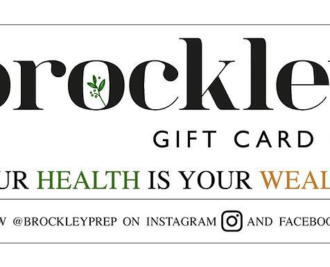 Brockley Gift Card
