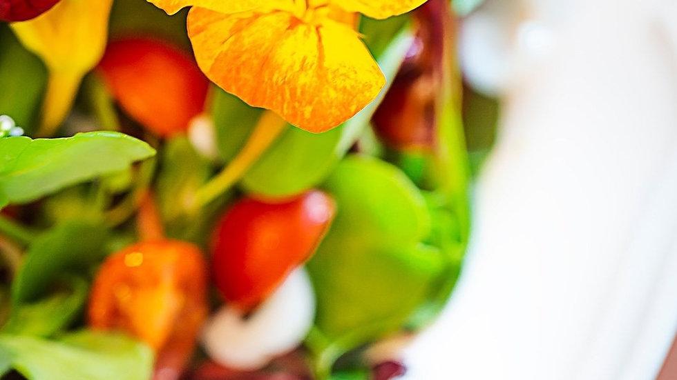 Just lovegrilled halloumi super food salad