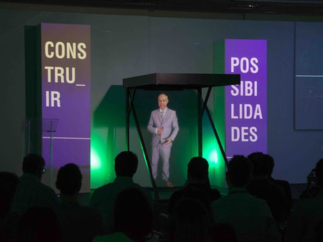 Palestras holográficas: a nova realidade