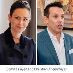 Breakfast with Christian Angermayer and Camilla Fayed