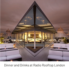 LTC Dinner and Drinks at Radio Rooftop London
