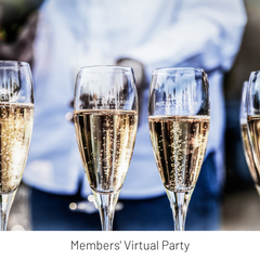 Virtual Get-Together and champagne tasting to celebrate LTC's second anniversary