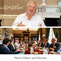 'The Revolut Journey': LTC breakfast with Martin Gilbert at the RAC