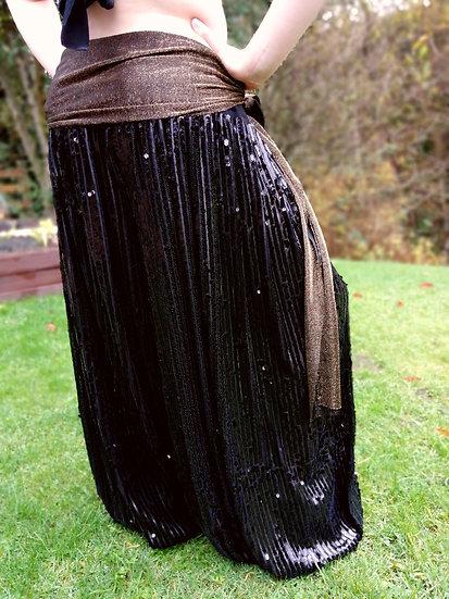 DIVA! DIVINITY LOONS, Black sequin