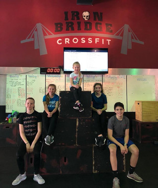 Fostering Fun Fitness for All Ages- #CrossFit Kids at Iron Bridge