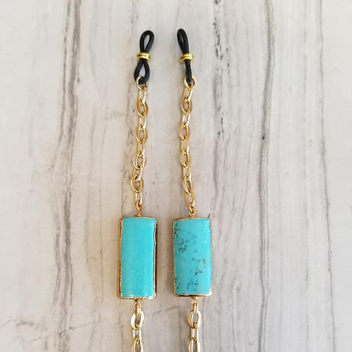 Turquoise Gold Chain