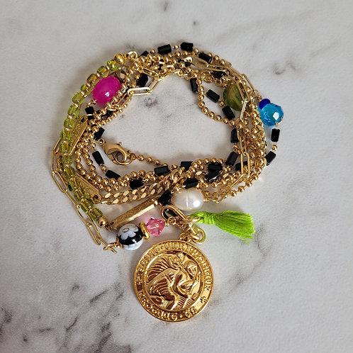 All In Necklace/Bracelet Wrap