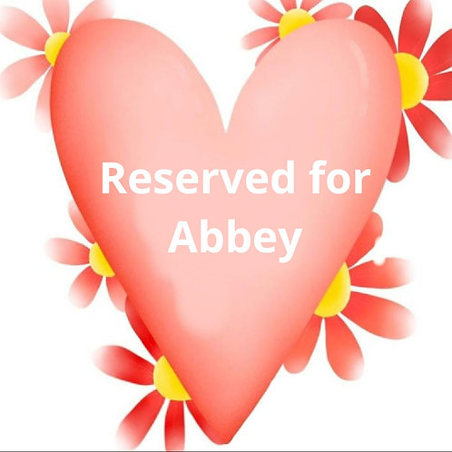 Custom listing for Abbey