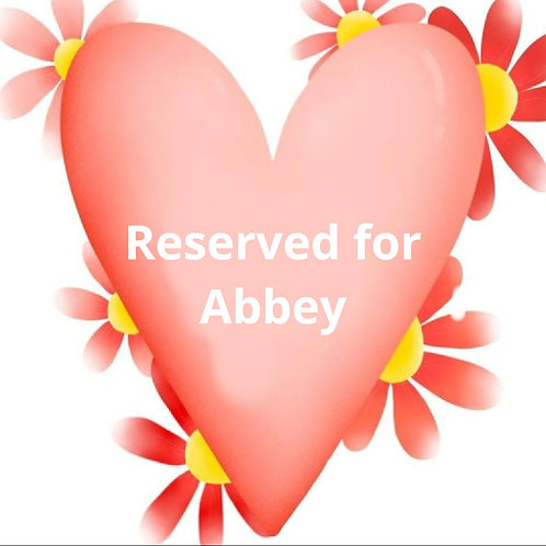 Custom listing for Abbey