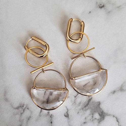 Qyartz Crystal Earrings