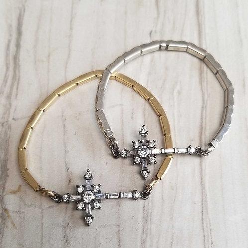 Cross Vintage Watchband Bracelet