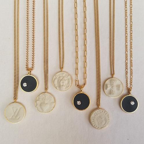 Intaglio Pendant Necklace