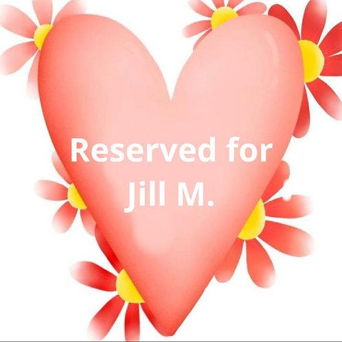 Custom listing for Jill M.