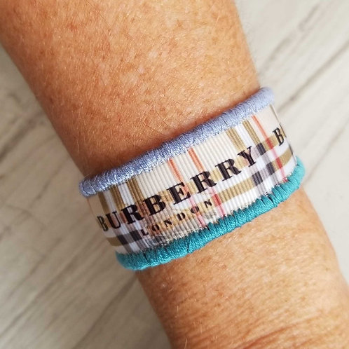 Woven - Burberry in Blue