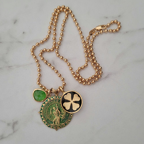 Lucky Charm St Christopher