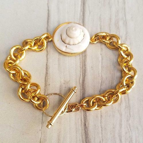 Shell Connector bracelet