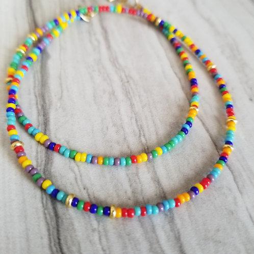 Tiny Rainbow necklace